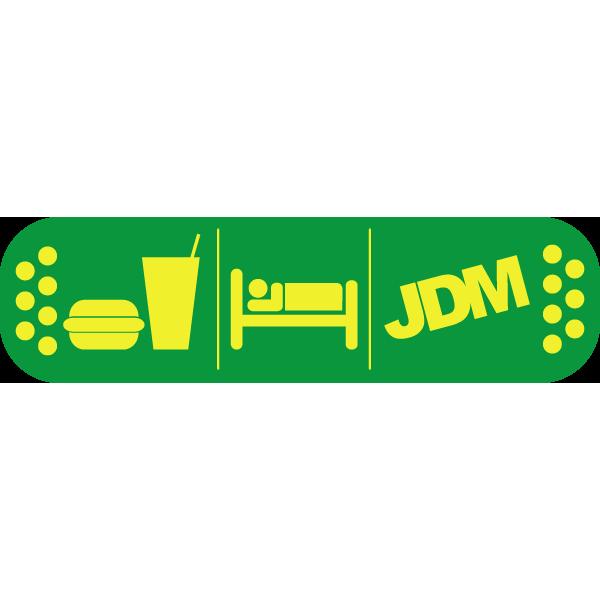 Наклейка Eat Sleep JDM, фото 1