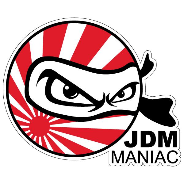 Наклейка JDM maniac, фото 1