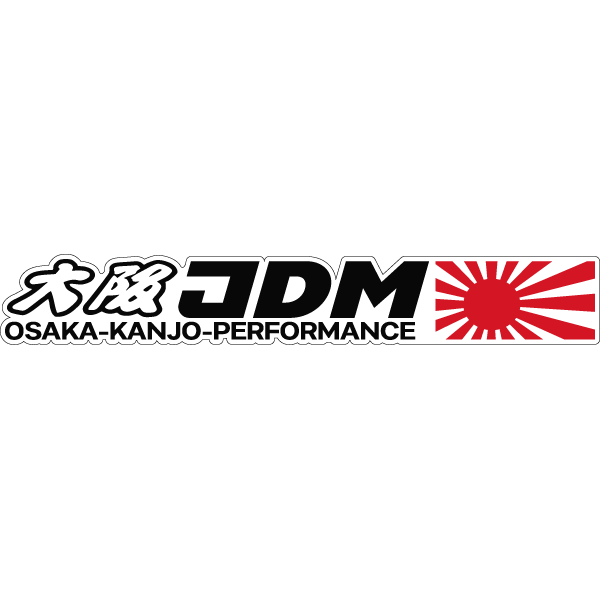 Наклейка Osaka-Kanjo-Performance, фото 1