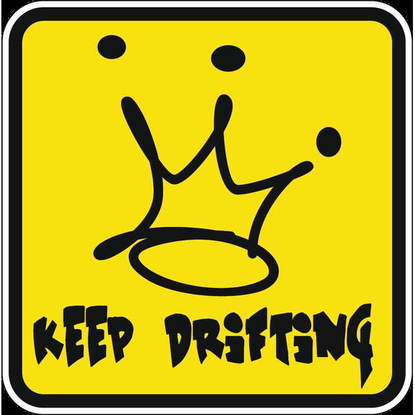 Наклейка Keep drifting, фото 1