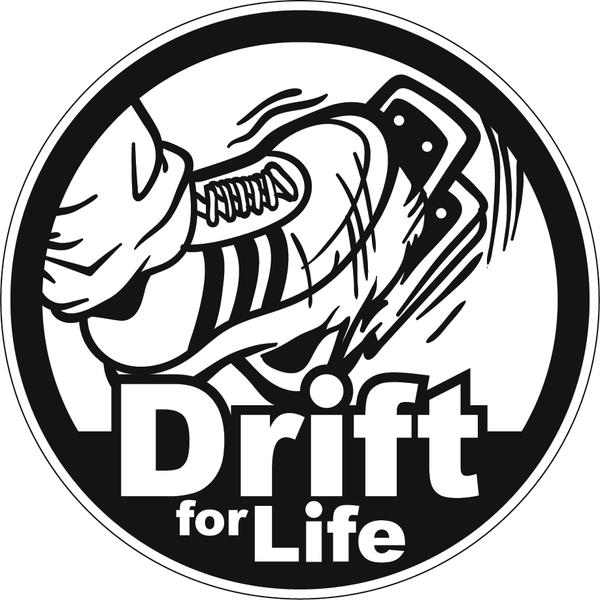 Наклейка Drift for life, фото 1
