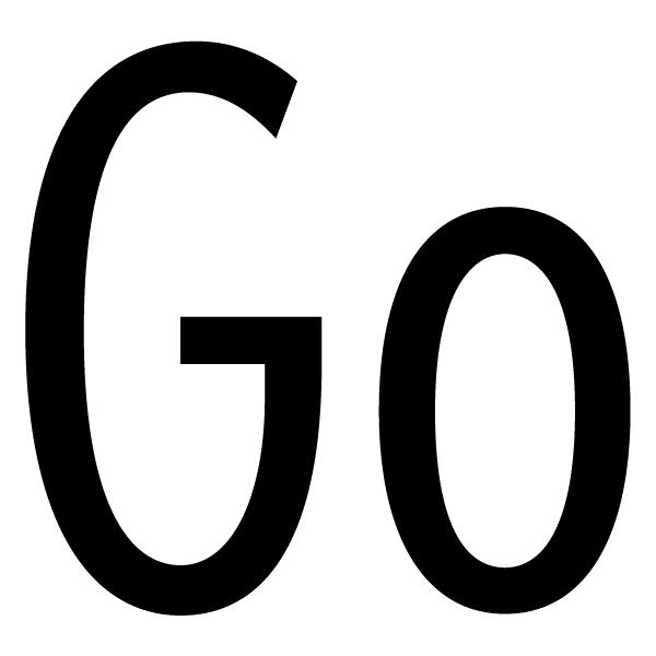 Наклейка Go, фото 3