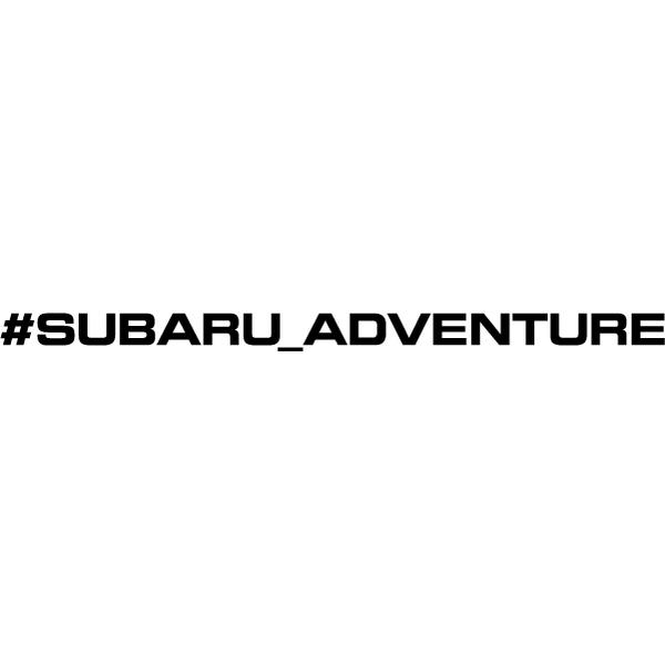 Наклейка #subaru_adventure, фото 13