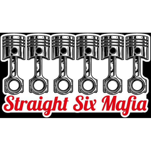 Наклейка Straight Six Mafia, фото 1