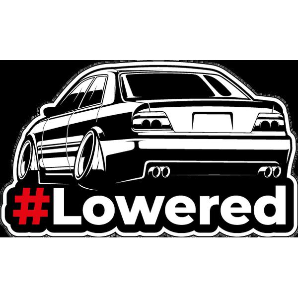 Наклейка #Lowered, фото 1