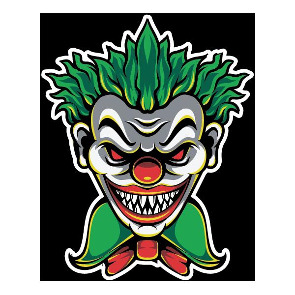 Наклейка Клоун-006, фото 1