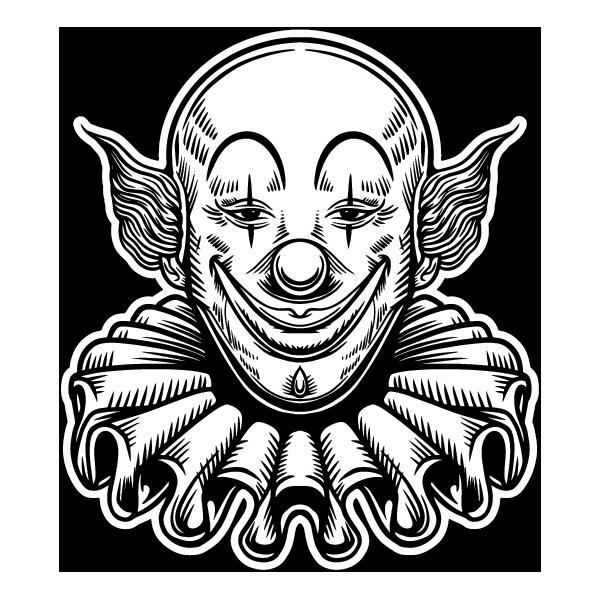 Наклейка Клоун-008, фото 1