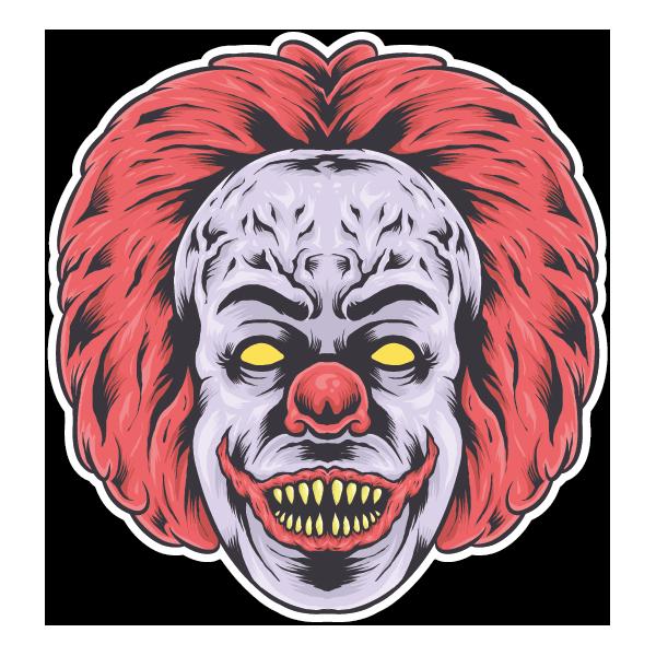 Наклейка Клоун-033, фото 1