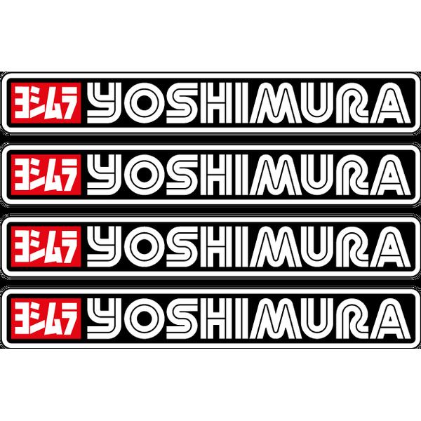 Наклейка Yoshimura 4шт, фото 1