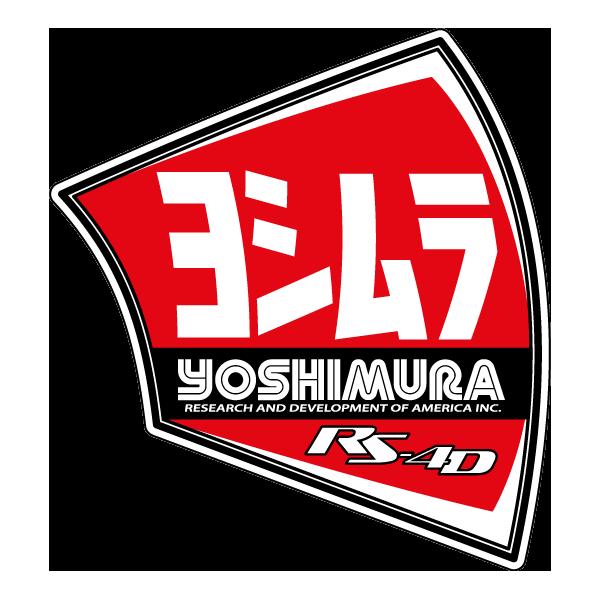 Наклейка Yoshimura RS-4D, фото 1