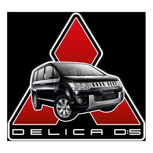 Наклейка Mitsubishi Delica D:5, фото 1