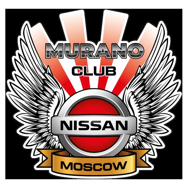 Наклейка Nissan Murano Club Moscow, фото 1