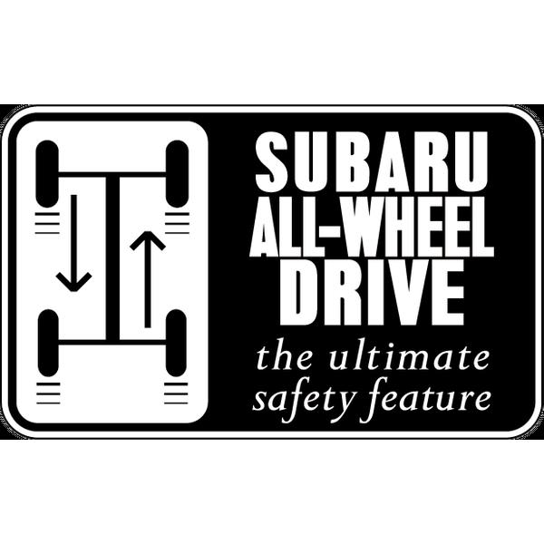 Наклейка Subaru All-Wheel Drive, фото 1