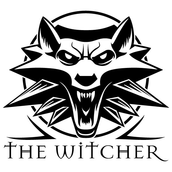 Наклейка Ведьмак / The Witcher, фото 13
