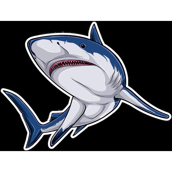 Наклейка Акула-042, фото 1