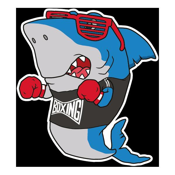 Наклейка Акула-047, фото 1