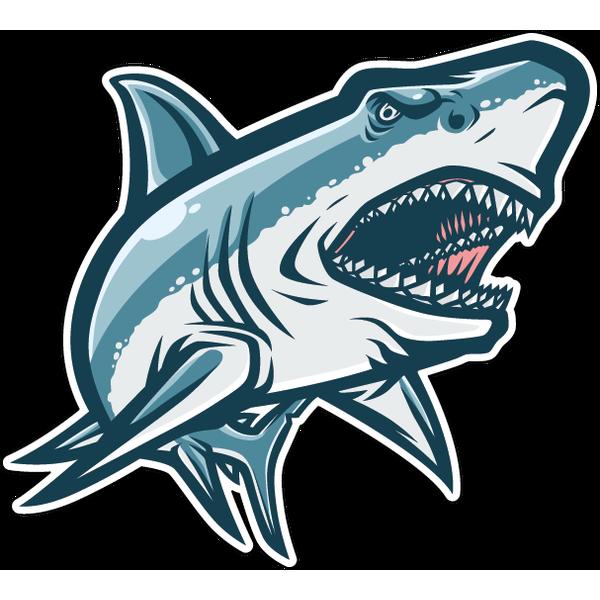 Наклейка Акула-052, фото 1