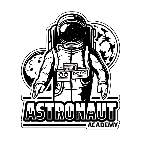Наклейка Astronaut Academy, фото 1
