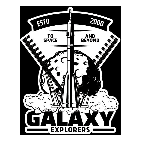 Наклейка Galaxy Explorers, фото 1