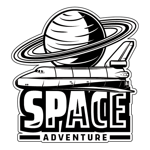 Наклейка Space Adventure, фото 1