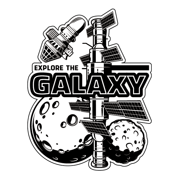 Наклейка Explore The Galaxy, фото 1