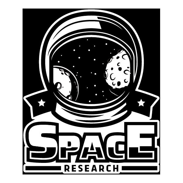 Наклейка Space Research, фото 1