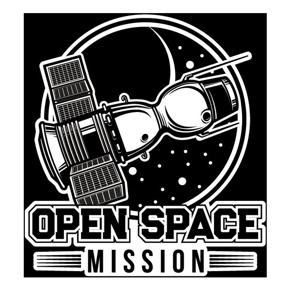 Наклейка Open Space Mission, фото 1