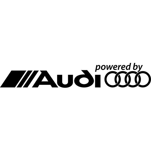 Наклейка Powered by Audi, фото 13