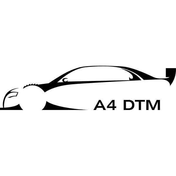 Наклейка Audi A4 DTM, фото 13