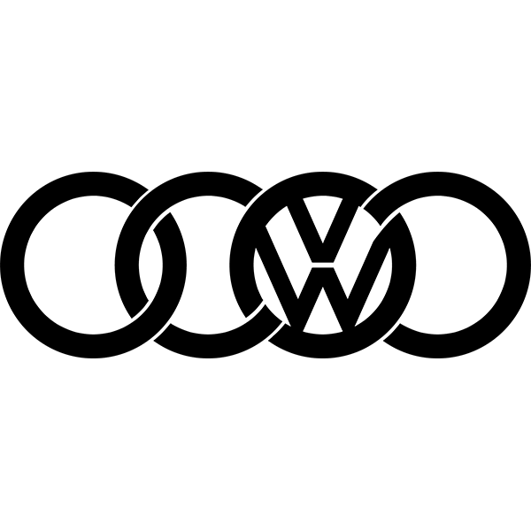 Наклейка VW Audi, фото 13