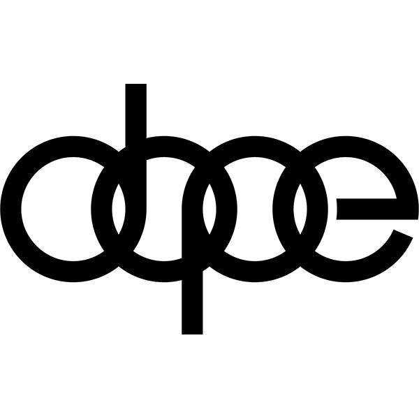 Наклейка Dope Audi, фото 13