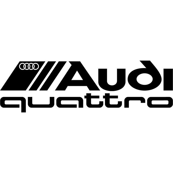 Наклейка Audi Quattro, фото 13