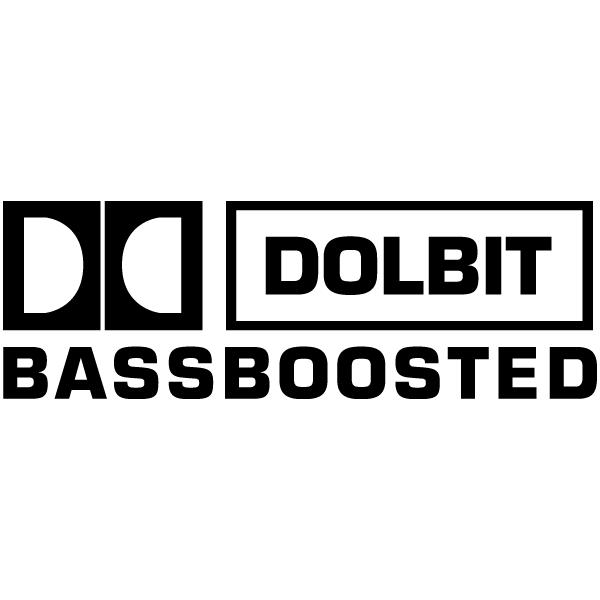 Наклейка Долбит Bassboosted, фото 13