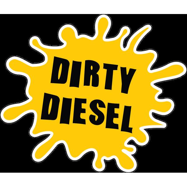 Наклейка Dirty Diezel, фото 1